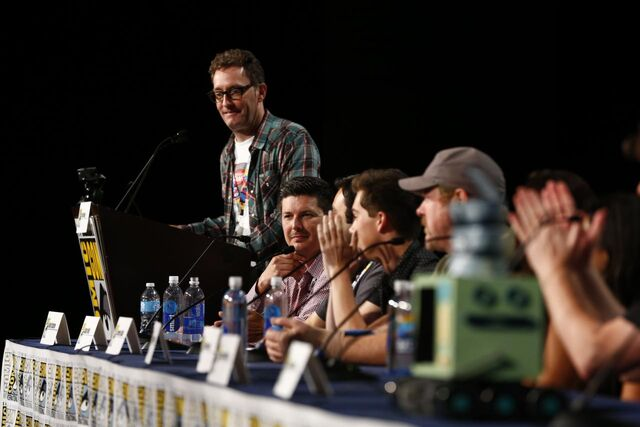 File:Adventure Time Panel at SDCC14 17.JPG