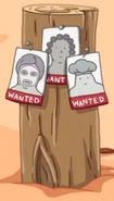 S5e34 Wanted posters