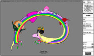 Modelsheet ladyrainicorn witheveryone phased