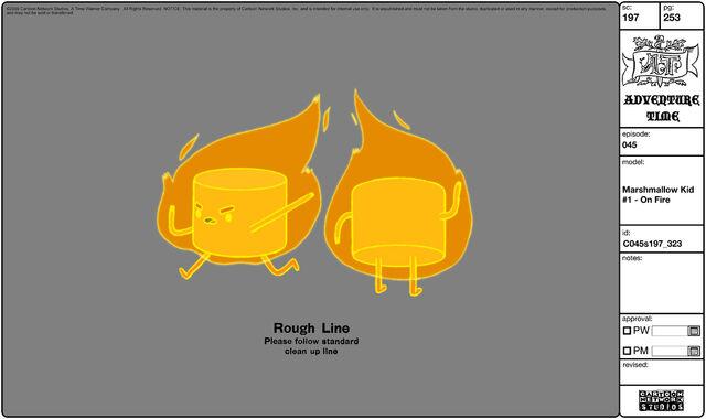 File:Modelsheet marshmallowkid1 - onfire.jpg
