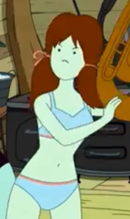 File:S5e20 bikini babe brown hair in pigtails2.png
