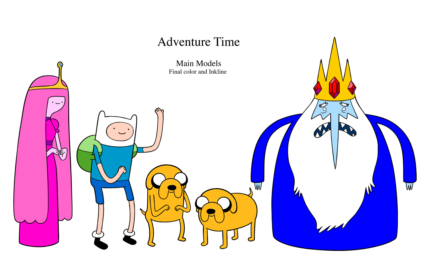 Design An Adventure Time Character : Image adventure time line up g wiki