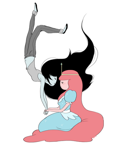 File:Bonnibel and Marceline - Friendship - by Natasha.png