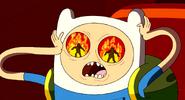 S2e1 Finn and eye flames