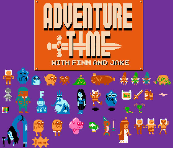 File:Retro adventure time.jpg