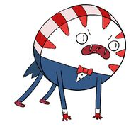 Peppermint Butler hissing