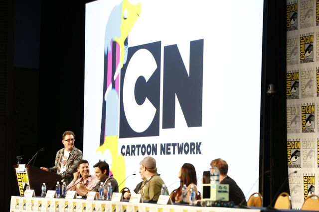 File:Adventure Time Panel at SDCC14 6.JPG