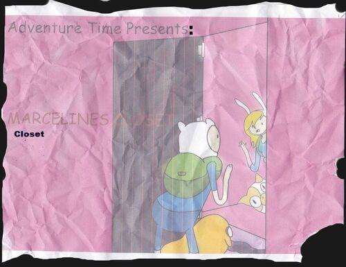 Marcelines closet title card