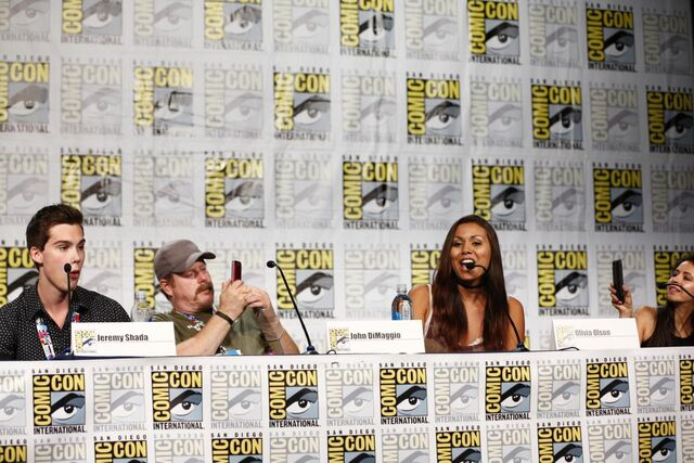 File:Adventure Time Panel at SDCC14 11.JPG