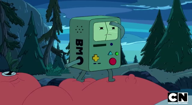 File:S5 e17 BMO on Sparkle in the river.PNG