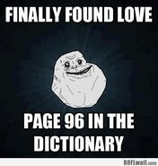 Forever alone finally found love