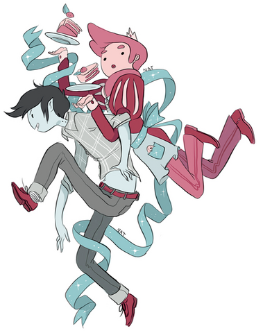 File:Bubba and Marshall Lee - Embrace - by Natasha.PNG