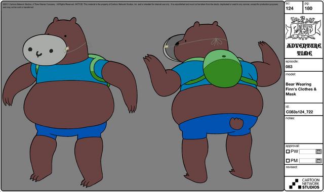 File:Modelsheet - Bearwearingfinn'sclothes&mask.png