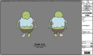 Modelsheet Fat Villager -1