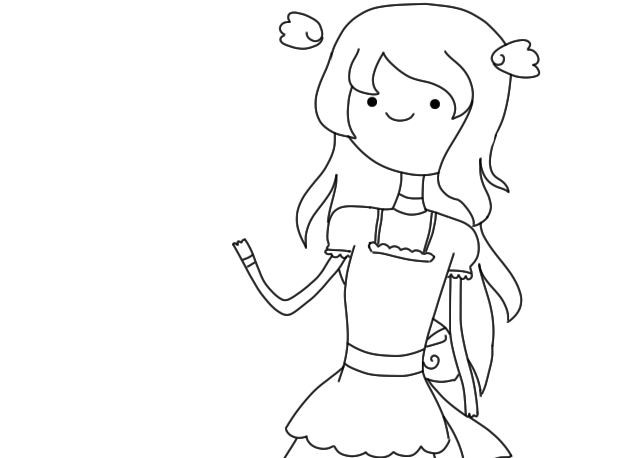 File:Air Princess Lineart.png