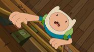 Finn climbing
