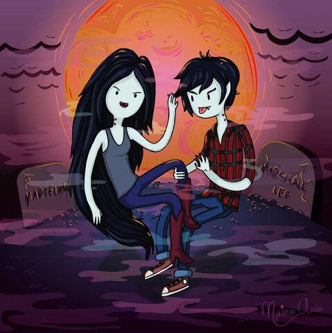 File:Marceline and marshall lee by gloomydollx-d5ydffa.jpg