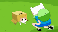 Finn and boxprince S5E37