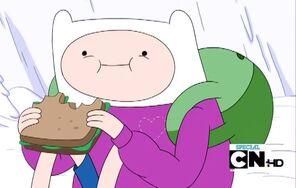 S3e17 Finn sandwich