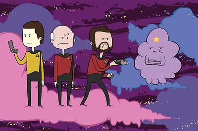 File:Adventure time Star trek.jpg