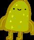 Green Gumdrop Dude