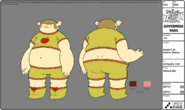 Modelsheet sweetp. inknittedclothes