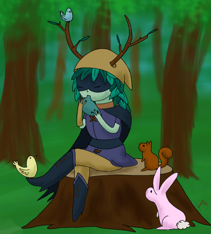 File:Huntress wizard by the rebexorcist-d5ku39o.png