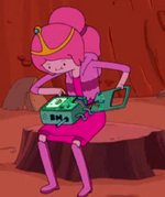 S3e10 Bubblegum with BMOs removed faceplate