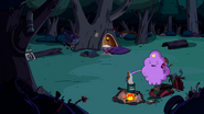 S2e26 LSP in her hobo camp