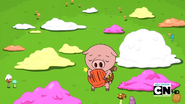 S2e13 baby pig holding construction hat