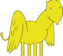 Winged Lemongrab Horse