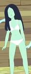 S5e20 bikini babe black hair