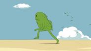 Grass Finn running