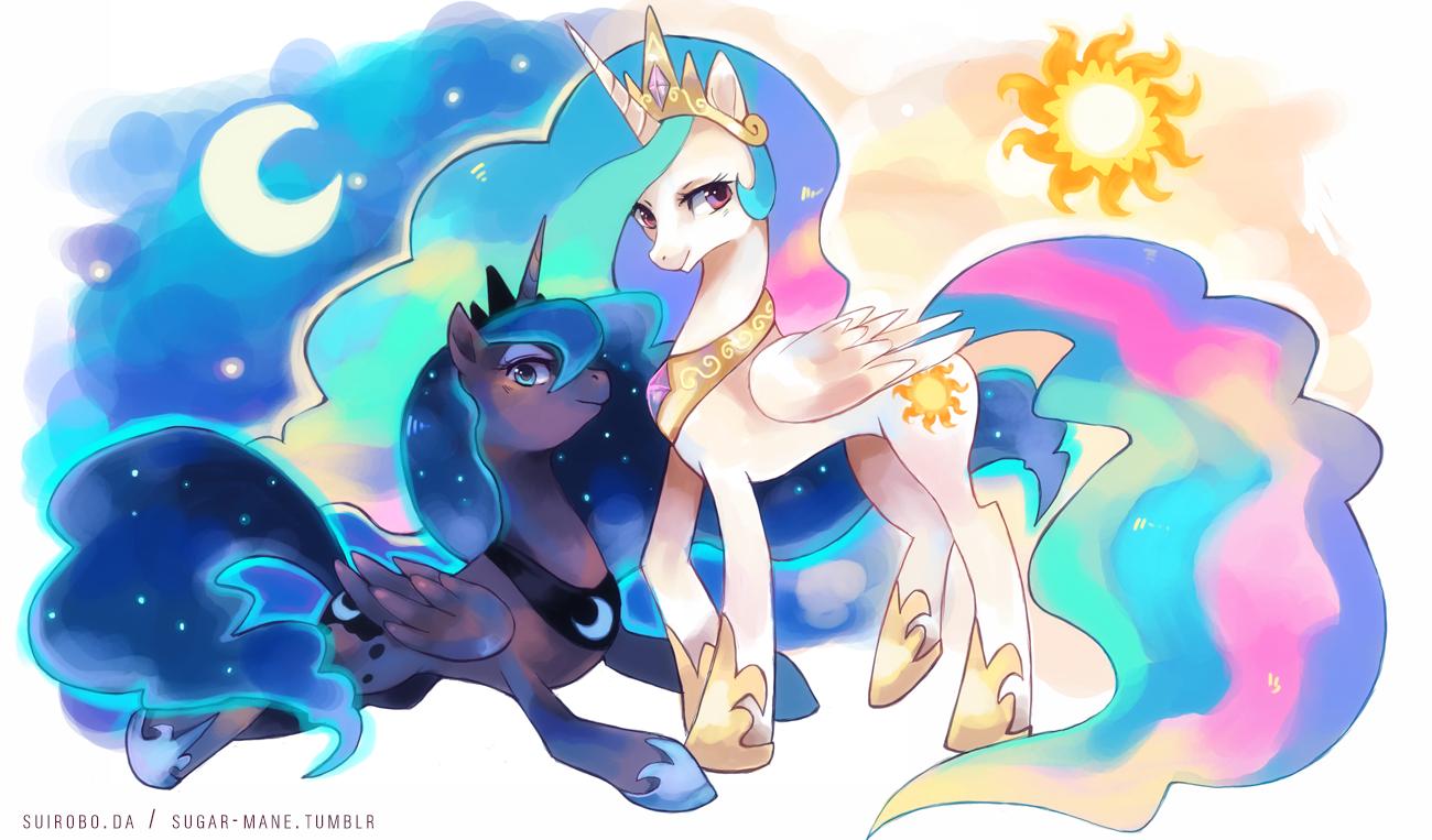 Image - Princess-celestia-princess-luna-my-little-pony ...