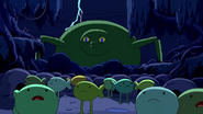 S4 E23 Prince Huge stalking Frog People