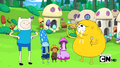 S2e13 Finn and Jake with Mushroom People.png