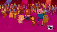 S2e21 finn and jake helping bears