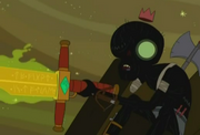 Runic sword