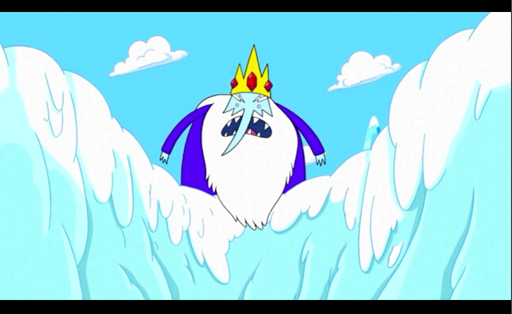 File:S1e3 ice king on snow cliff.png