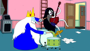 S4e25 Ice King and Marceline jamming out