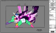 Modelsheet Blastronaut Exploding - Special Pose