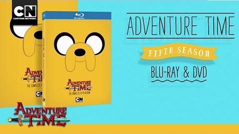 Adventure Time Complete Fifth Season Blu-Ray and DVD I Own it July 14th I Cartoon Network