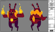 Modelsheet flamelord