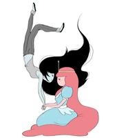 374px-Bonnibel and Marceline - Friendship - by Natasha