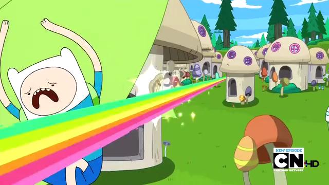 File:S2e13 Finn dodging rainbow blast.png