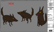 Modelsheet Mama Wolf - Inside Cave Day