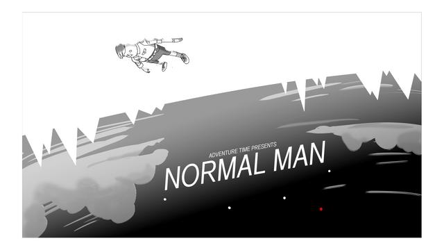 File:Normal Man Title Card Design.png