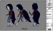 Modelsheet marceline withstripedsweater
