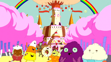 Fionna and Cake intro candy people