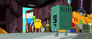 S4e2 Finn and Jake leaving